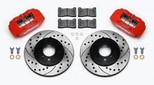 Wilwood Forged DPHA Front Caliper and Rotor Kit - Honda Civic 1988-2000/Integra 1989-2001