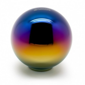 Blox Racing Neo Chrome 490 Spherical Shift Knob - M10x1.25