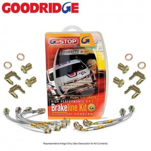 Goodridge G-Stop Stainless Brake Line Kit - Nissan Skyline R32/R33/R34