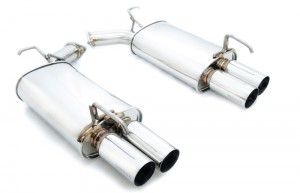 Megan Racing Axle Back Exhaust - Infiniti M35/45 2006-2010