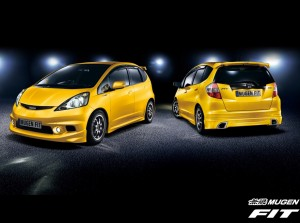 Mugen Ventilated Visor Set - Honda Fit/Jazz 2007-2013