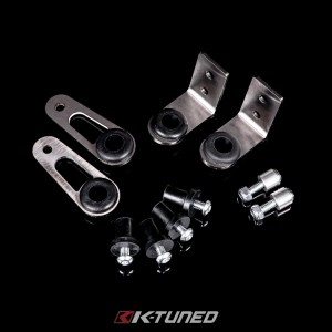 K-Tuned Bolt-On Radiator Brackets - Honda EK/DC w/ DC5 Full Radiator