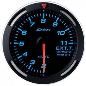Defi Racer 52mm Gauge - Boost (Blue)