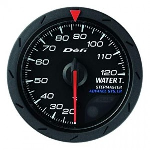 Defi Advance CR 52mm Gauge - Water Temperature (Black)