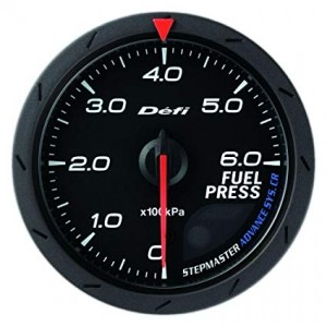 Defi Advance CR 60mm Gauge - Fuel Pressure (Black)