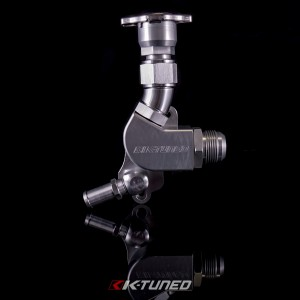 "K-Tuned K20 Upper Coolant Housing with Filler - 1.25"" Hose Fitting"