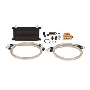 Mishimoto Thermostatic Oil Cooler Kit - Subaru WRX/STI 2008-2015 (Black)