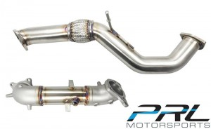"PRL Motorsports 3"" Front Pipe/v2 Down Pipe Set  - Honda Civic 2016-2019 1.5T"