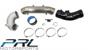 PRL Titanium Inlet Pipe Kit - Honda Civic Type R FK8 (Stock Intake)