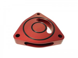 Torque Solution BOV Sound Plate - Honda Civic 2016-2020 1.5T (Red)