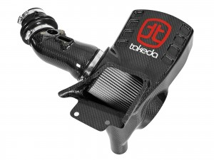 aFe Takeda Momentum Pro Dry S Cold Air Intake System - Honda Civic FK8 Type R (Carbon)