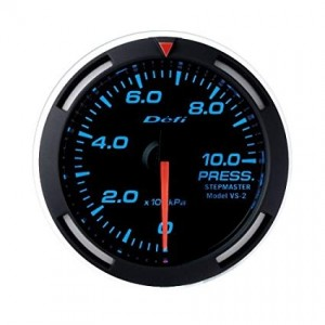 Defi Racer 52mm Gauge - Pressure (Blue)