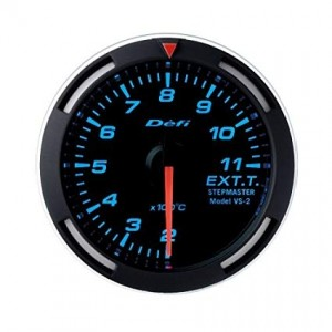 Defi Racer 52mm Gauge - Exhaust Temperature (Blue)