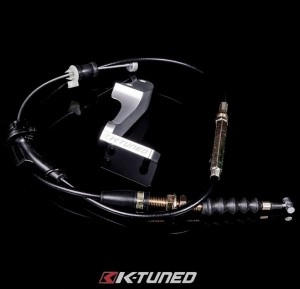 K-Tuned Throttle Cable/Bracket - Aftermarket Intake Manifolds (Skunk2 etc)