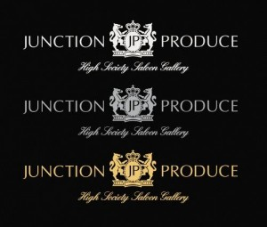 Junction Produce Sticker - Gold (XL Size)