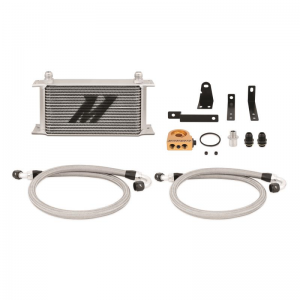 Mishimoto Thermostatic Oil Cooler Kit - Honda S2000 1999-2003 (Silver)