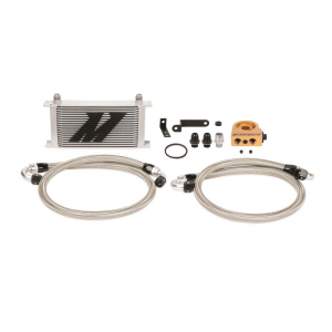 Mishimoto Thermostatic Oil Cooler Kit - Subaru WRX/STI 2008-2015 (Silver)