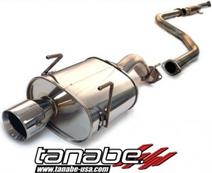 Tanabe Medallion Touring Exhaust - Honda Civic 1992-1995 (Hatch)