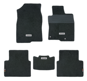 Mugen Sports Floor Mat Set - Honda Civic 2016+ (Black)