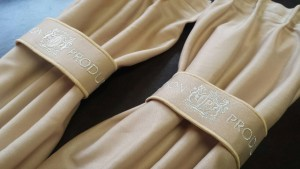 Junction Produce VIP Curtains - Beige/Silver Embroidery