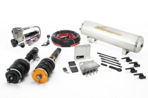 Airforce Air Suspension Gold Kit - Mazda RX-7 FC3S