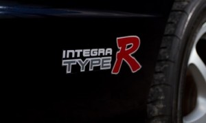 Honda OEM Type R Stickers - Integra DC2 Type R (Left/Right Set Type 4)