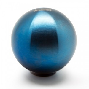 Blox Racing Torch Blue 490 Spherical Shift Knob - 10x1.25 Thread