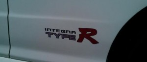 Honda OEM Type R Stickers - Integra DC2 Type R (Left/Right Set Type 3)