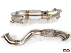 RV6 Performance Catted Down Pipe/Front Pipe Combo - Honda Civic FK8 Type R