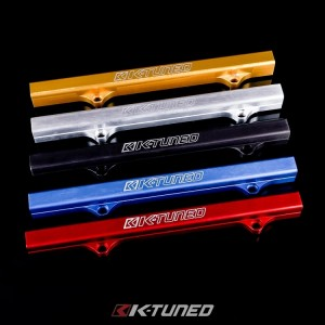 K-Tuned Fuel Rail - Honda K-Series w/ EFI Fitting (Black)