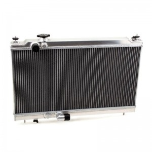 Hybrid Racing K-Swap Full Size Radiator - Honda Integra DC 1994-2001