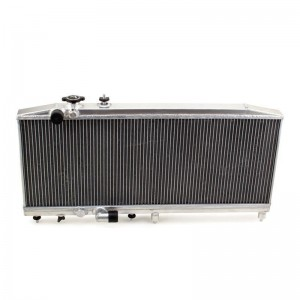Hybrid Racing K-Swap Full Size Radiator - Honda Civic EK 1996-2000