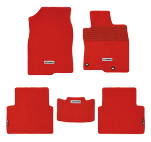 Mugen Sports Floor Mat Set - Honda Civic 2016+ (Red)