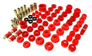 Energy Suspension Master Bush Set - Honda Civic EG 1992-1995/Del Sol 1994-1997 (Red)
