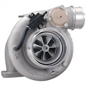 Borg Warner EFR 8374-D - 1.05 A/R T4 Twin Scroll Turbine Housing (External Wastegate)