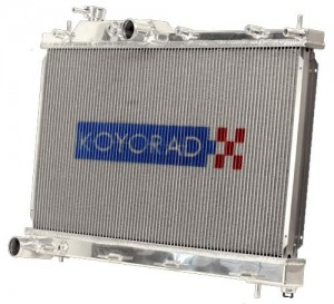 Koyo Aluminium Race Radiator - Mitsubishi Evo 4-6 (CT9A Shroud Required)