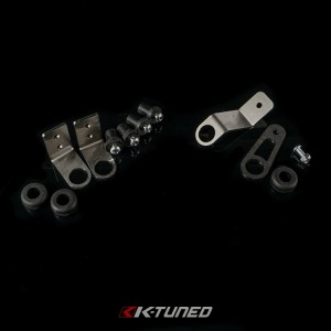 K-Tuned Bolt-On Radiator Brackets - Honda EG/DC w/ Half Radiator