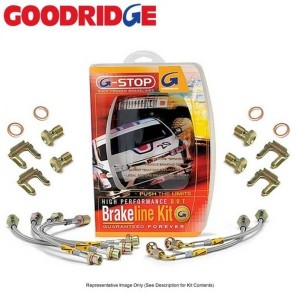 Goodridge Braided Brake Lines - Honda FIt/Jazz 2014-2019