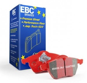 EBC Red Stuff Brake Pad Set - Honda Civic FK8 Type R 2017-2020 (Front)